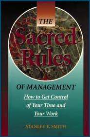 The Sacred Rules of Management book cover